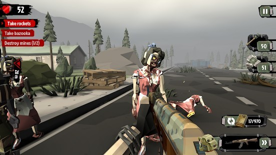 The Walking Zombie 2 Mega Hileli MOD APK [v3.6.8] 4