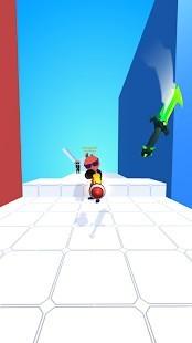 Sword Play Biçer Doğrar Ninja 3D Para Hileli MOD APK [v5.1] 4