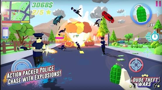 Dude Theft Wars Para Hileli MOD APK [v0.9.0.1] 6