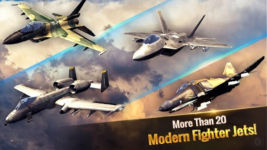Ace Fighter Para Hileli MOD APK [v2.61] 3