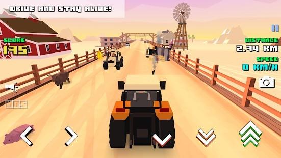 Blocky Farm Racing Simulator Para Hileli MOD APK [v1.43] 5