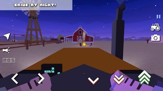 Blocky Farm Racing Simulator Para Hileli MOD APK [v1.43] 2