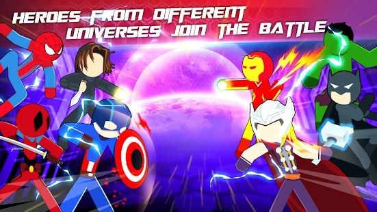 Super Stickman Heroes Fight Para Hileli MOD APK [v2.5] 5