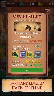 Never Ending Dungeon Mega Hileli MOD APK [v1.6.5] 3