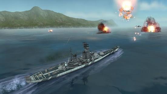 WARSHIP BATTLE 3D World War II Para Hileli MOD APK [v3.4.0] 5
