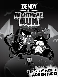 Bendy in Nightmare Run Mega Hileli MOD APK [v1.4.3676] 1