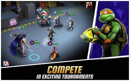 Ninja Turtles Legends Para Hileli MOD APK [v1.16.5] 4
