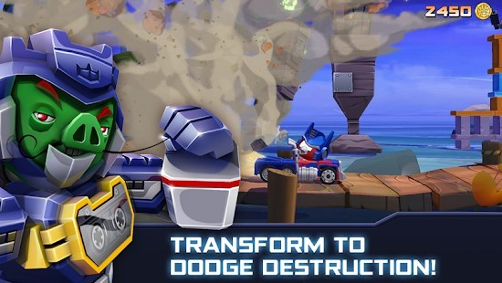 Angry Birds Transformers Elmas Hileli MOD APK [v2.11.0] 3