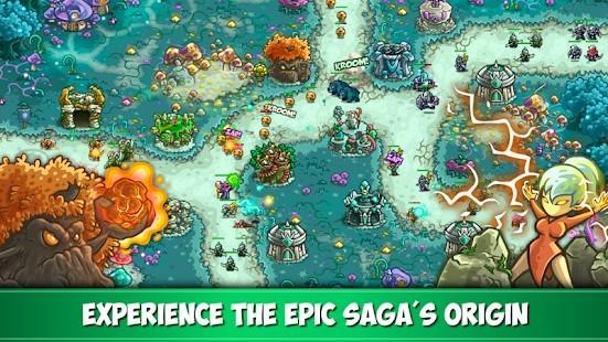 Kingdom Rush Origins Elmas Hileli MOD APK [v5.3.11] 5