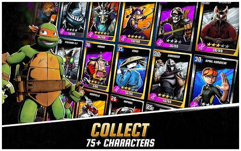 Ninja Turtles Legends Para Hileli MOD APK [v1.16.5] 3