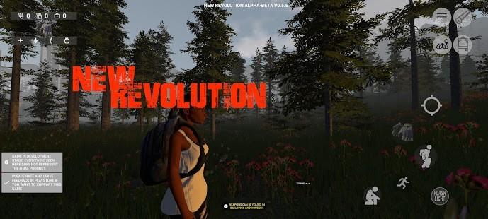 New Revolution Open World Survival Full APK [v0.6] 1