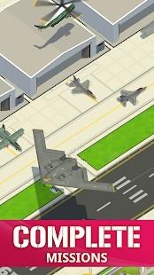 Idle Air Force Base Para Hileli MOD APK [v1.1.0] 1