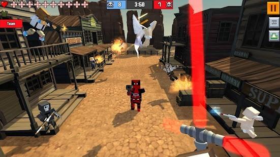 Pixel Fury 3D Multiplayer Mega Hileli MOD APK [v20.0] 3