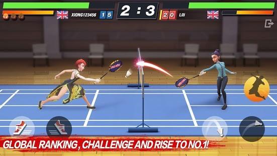 Badminton Blitz Para Hileli MOD APK [v1.1.23.2] 6