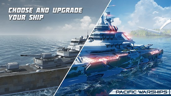 Pacific Warships Naval PvP Mermi Hileli MOD APK [v1.1.04] 1