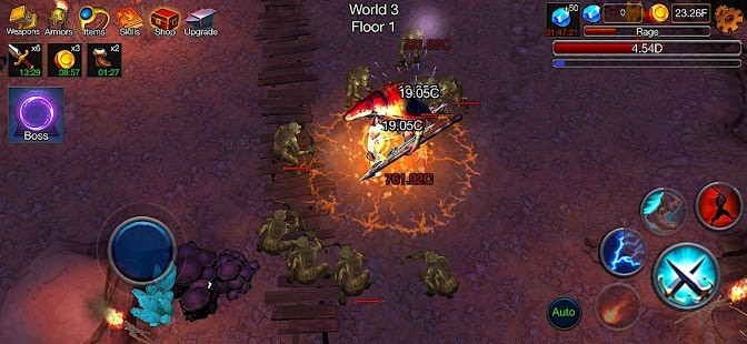 Dungeon Clash 3D Para Hileli MOD APK [v2.1.32] 2