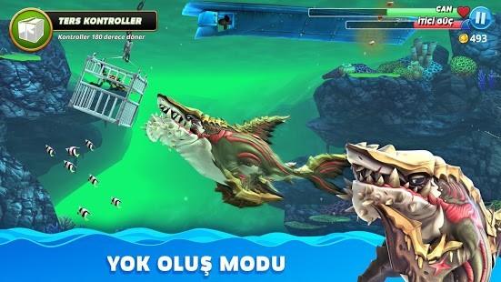 Hungry Shark World Para Hileli MOD APK [v4.4.2] 4