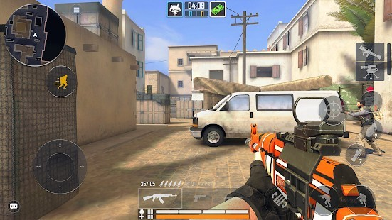 Fire Strike Online - Ücretsiz Shooter FPS Radar Hileli MOD APK [v2.03] 6