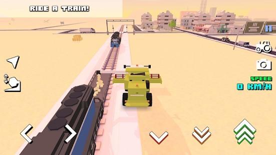 Blocky Farm Racing Simulator Para Hileli MOD APK [v1.43] 1