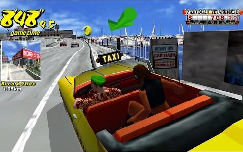 Crazy Taxi Classic Reklamsız MOD APK [v4.5] 2