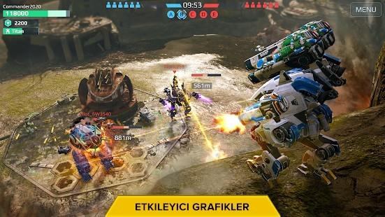 War Robots Mermi Hileli MOD APK [v7.4.1] 5