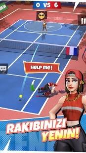 Tenis Go Dünya Turu 3D Hileli MOD APK [v0.16.0] 6
