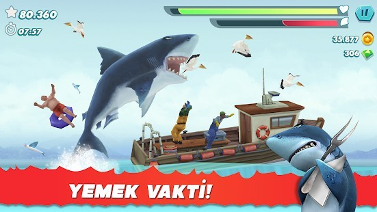 Hungry Shark Evolution Elmas Hileli MOD APK [v8.8.6] 6