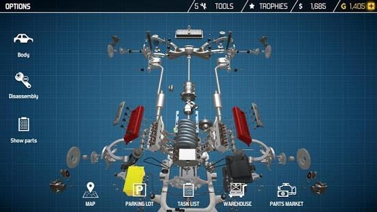 Car Mechanic Simulator 21 Para Hileli MOD APK [v2.1.27] 3