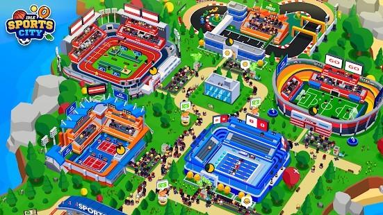 Sports City Tycoon Para Hileli MOD APK [v1.11.0] 1