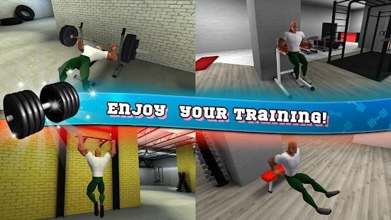 Fitness Salonu Vücut Geliştirme Pompası Para Hileli MOD APK [v6.5] 6