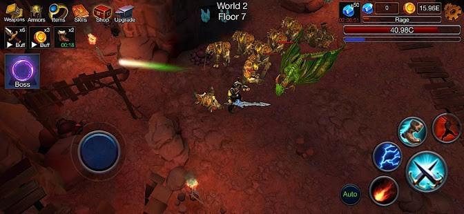 Dungeon Clash 3D Para Hileli MOD APK [v2.1.32] 3