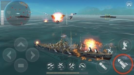 WARSHIP BATTLE 3D World War II Para Hileli MOD APK [v3.4.0] 6