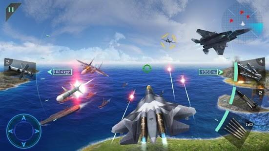 Gökyüzü Savaşçıları 3D Para Hileli MOD APK [v2.0] 6