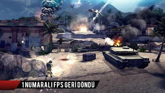 Modern Combat 4 Zero Hour Full Para Hileli MOD APK [v1.2.3e] 2