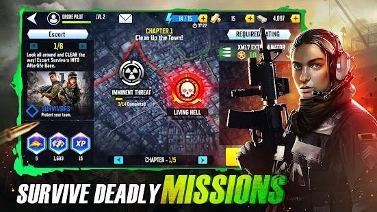 Drones 4 Zombie Strike Para Hileli MOD APK [v1.20.151] 3