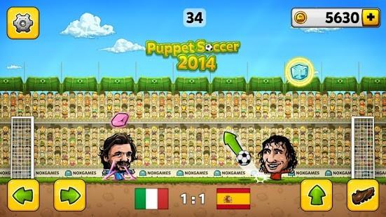 ⚽ Kukla Futbolu 2014 - Futbol Oyunu Para Hileli MOD APK [v3.0.4]⚽ 3