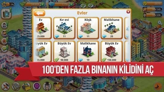 Village City Para Hileli MOD APK [v1.11.3] 4