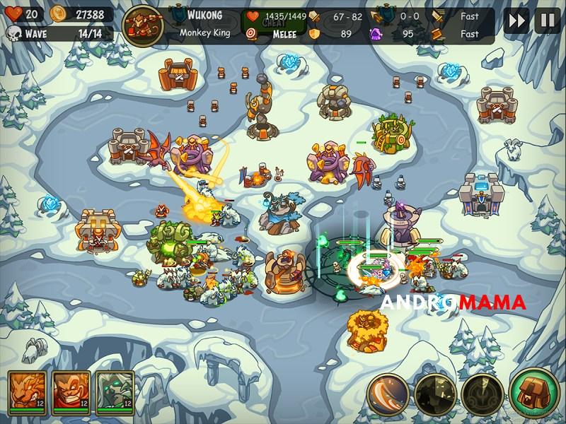 Empire Warriors TD Premium Para Hileli MOD APK [v2.4.13] 2