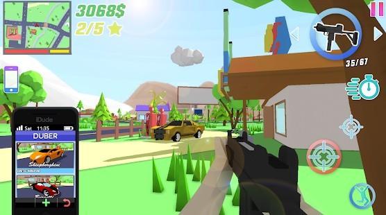 Dude Theft Wars Para Hileli MOD APK [v0.9.0.1] 1