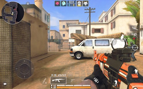 Fire Strike Online - Ücretsiz Shooter FPS Radar Hileli MOD APK [v2.03] 2