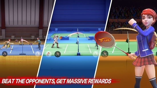 Badminton Blitz Para Hileli MOD APK [v1.1.23.2] 1