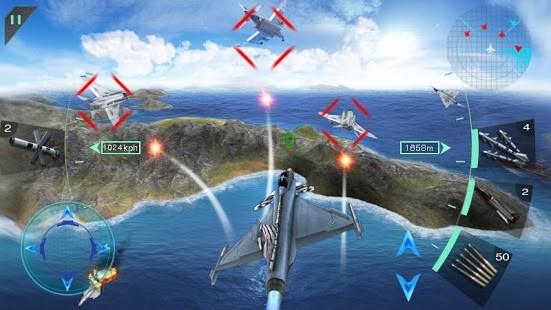 Gökyüzü Savaşçıları 3D Para Hileli MOD APK [v2.0] 4