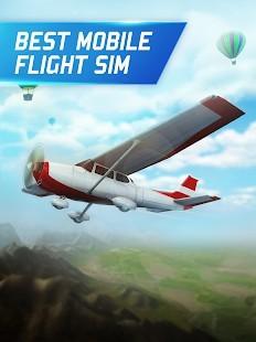 Flight Pilot Simulator 3D Para Hileli MOD APK [v2.4.3] 5