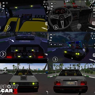 Sport car 3 Taxi Police Para Hileli MOD APK [v1.02.027] 4