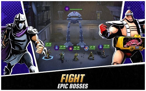 Ninja Turtles Legends Para Hileli MOD APK [v1.16.5] 5
