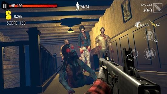 Zombie Hunter D-Day v1.0.818 MOD APK 4