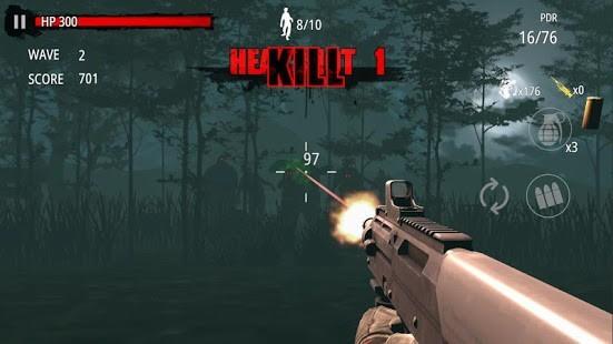 Zombie Hunter D-Day v1.0.818 MOD APK 1