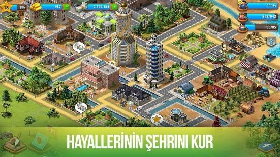 Paradise City Para Hileli MOD APK [v2.4.10] 5