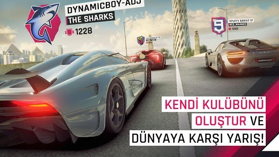 Asphalt 9 Legends MOD Menü Full APK [v2.8.4a] 2