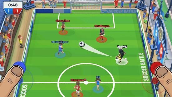 Soccer Battle (Futbol Savaşı) Para Hileli MOD APK [v1.21.5] 4